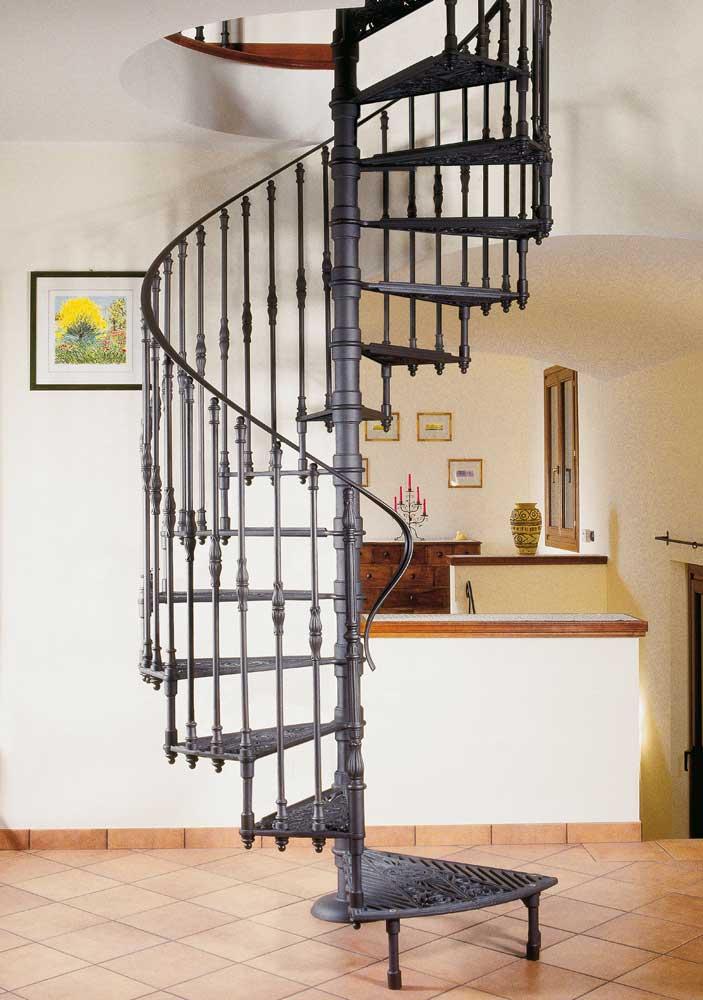 Scale a chiocciola milano da scale milano - Scale di ferro ...