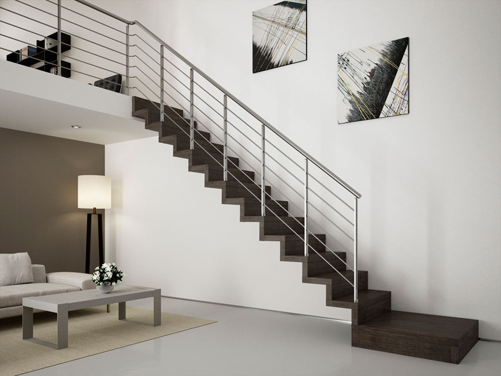 Scale a sbalzo milano da scale milano - Scale interne in muratura moderne ...
