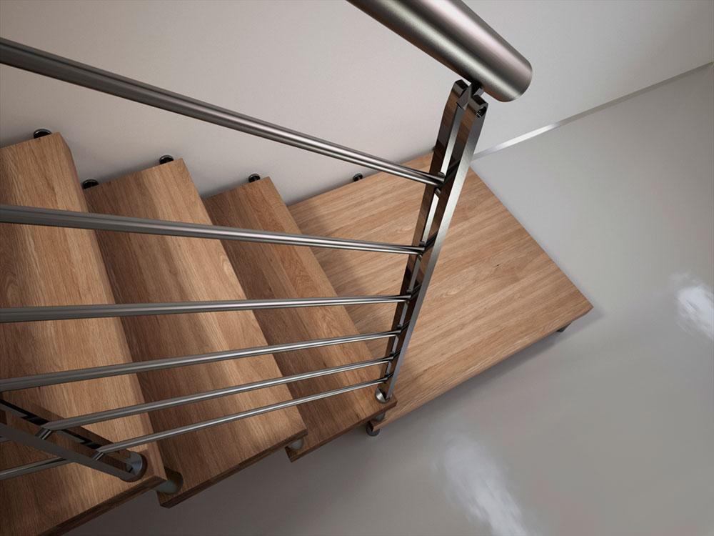 Scala a sbalzo legno scale milano for Catalogo bricoman rezzato brescia