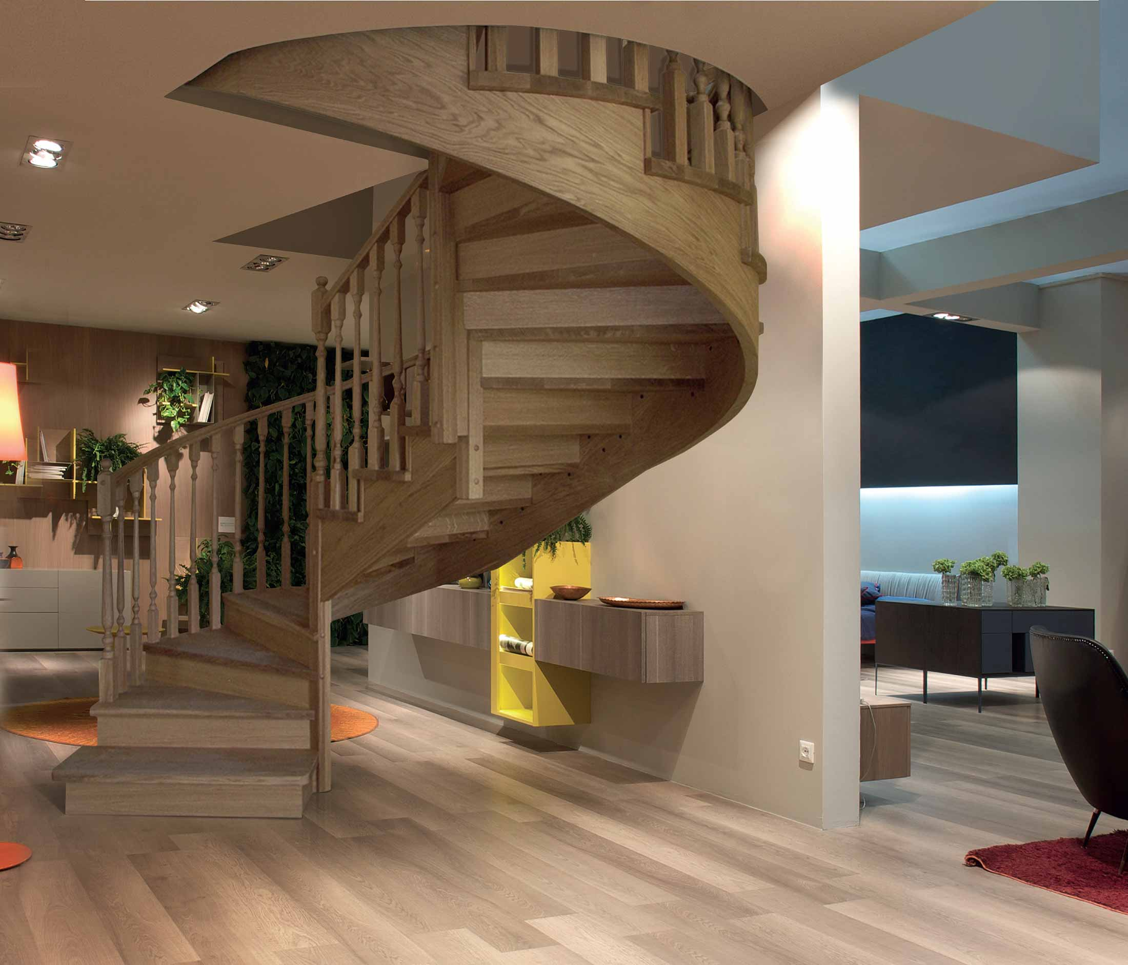 Realizzaziamo scale in legno in tutta italia contattaci for Chiusura vano scala interno