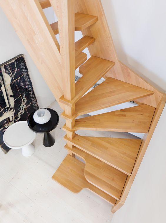 Perch scegliere una scala in legno scale milano for Costruire una scala in legno per soppalco