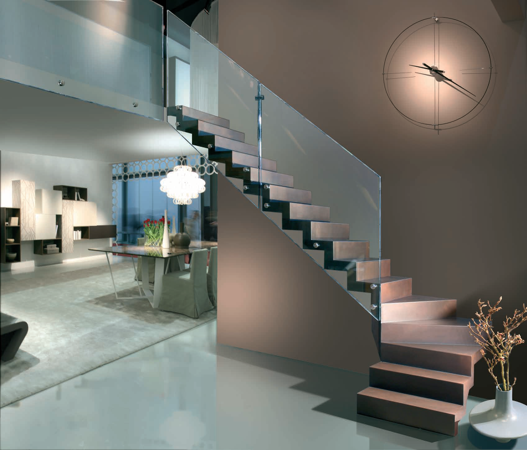 Le ringhiere delle vostre scale attenzione a non - Ringhiere da interno moderne ...